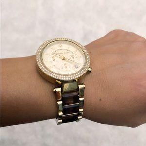 Gold Micheal Kors Watch
